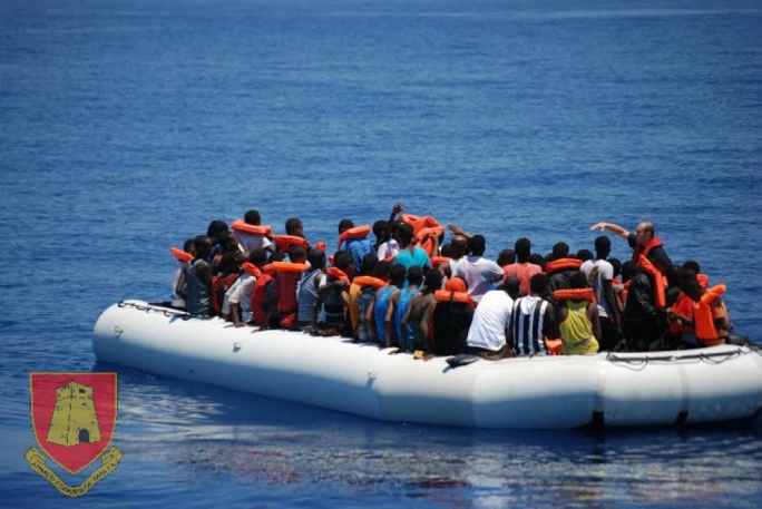 Hundreds of migrants were saved by maltese, Italian and US naval vessels