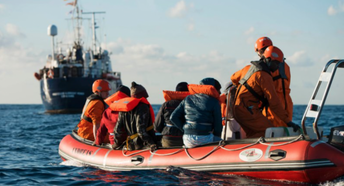 56 migrants rescued in Malta's search and rescue area brought ashore