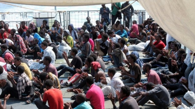 AFM rescues 370 migrants who were taken to Italy