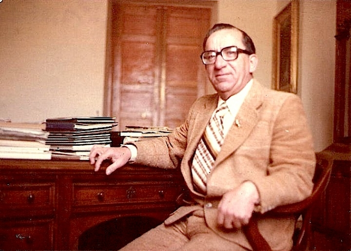 Dom Mintoff in 1972