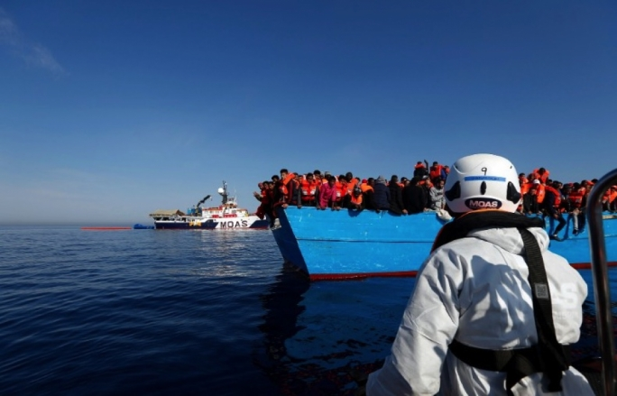 Every month, thousands of irregular migrants, asylum seekers and refugees cross from Libya to Italy by sea, in the hope of making their way to Europe
