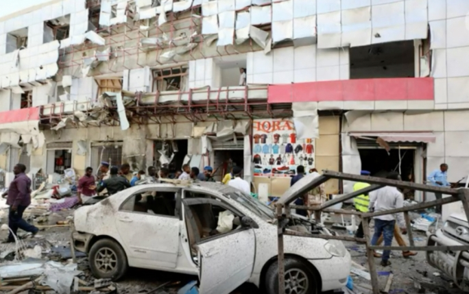 A car bomb killed 11 in Mogadishu on the same day Paul Anthony Formosa was murdered
