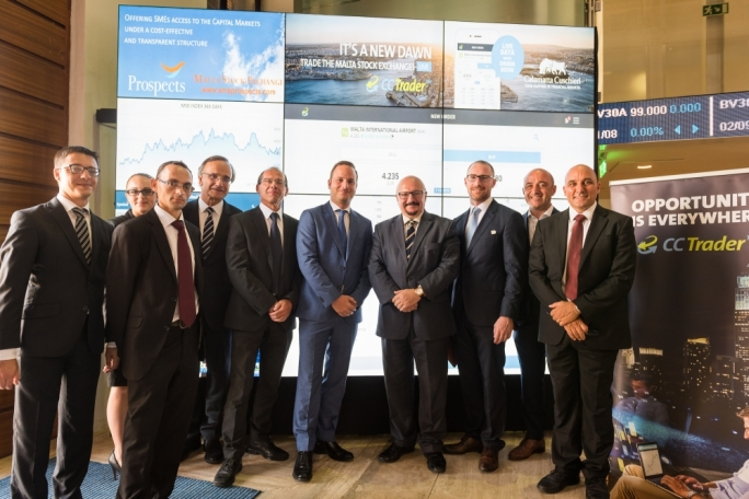 The updated CC Trader was launched at the Malta Stock Exchange