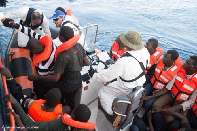 The MSF medical support team will still assist the rescue capacity of the SOS Méditerranée-run boat Aquarius, which is currently patrolling in international waters.