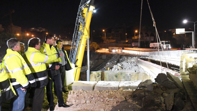 [WATCH] Msida Valley Road Bridge upgrade moves to next phase