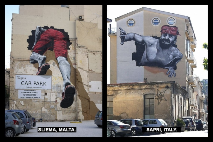 Photo by MTO (Graffiti/Street-art / Facebook)