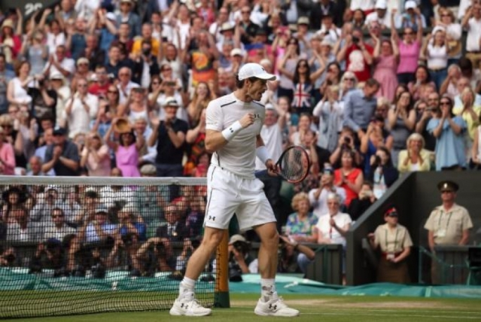 Great Britian's Andy Murray