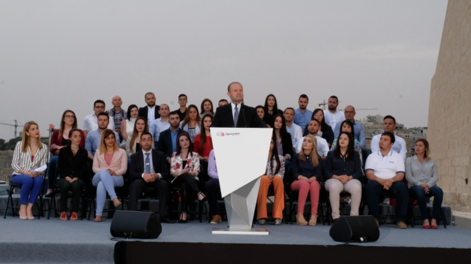 Muscat pledges to remove parliamentary privilege if elected