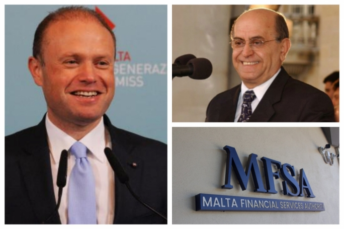 Joseph Muscat says he has full trust in the MFSA's chairman, board and CEO after authority governor and former Labour deputy leader Joe Brincat filed a judicial letter against the CEO