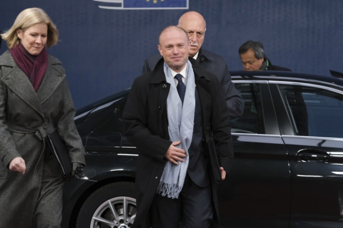 Muscat arrives in Brussels for his last European Council meeting