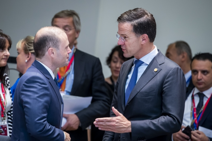 'I will keep an eye on Malta', Rutte holds meeting with Muscat as Malta PM avoids press