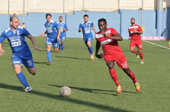Naxxar stopped Pieta's positive run of results. Photo by chris Mangion