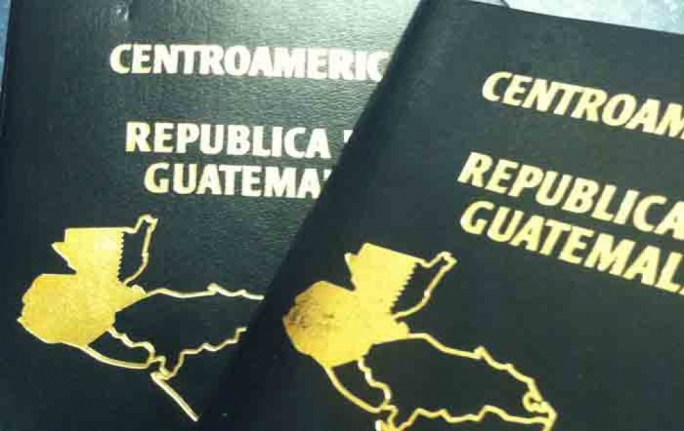 The Libyan official was carrying a Guatemalan passport.