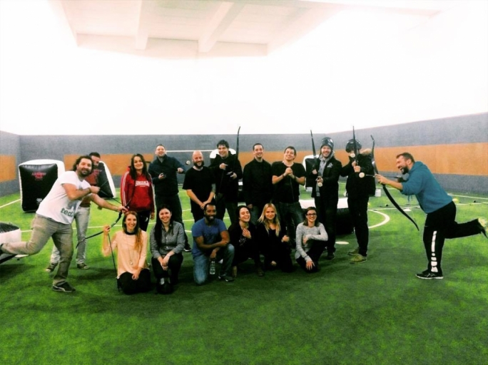 Arrow Tag teambuilding event. January 2017