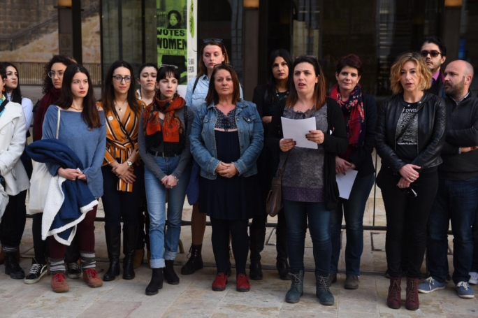 Members of seven non-profit organisations and individual co-founders held a press conference inaugurating a coalition to combat the stigma of abortion