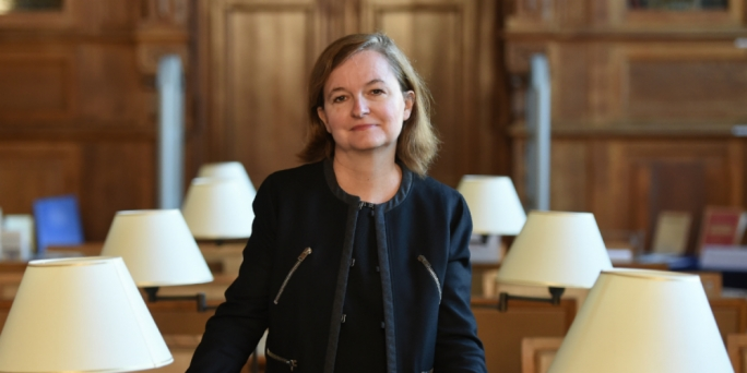 French Minister for European Affairs Nathalie Loiseau
