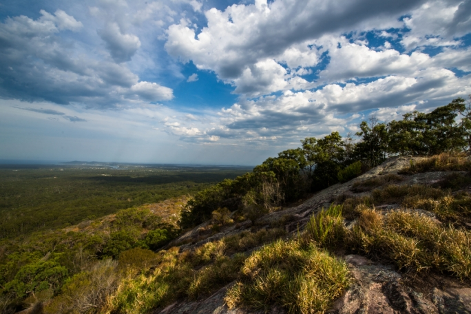 There are also a couple of tracks in the mountainous western region of Noosa