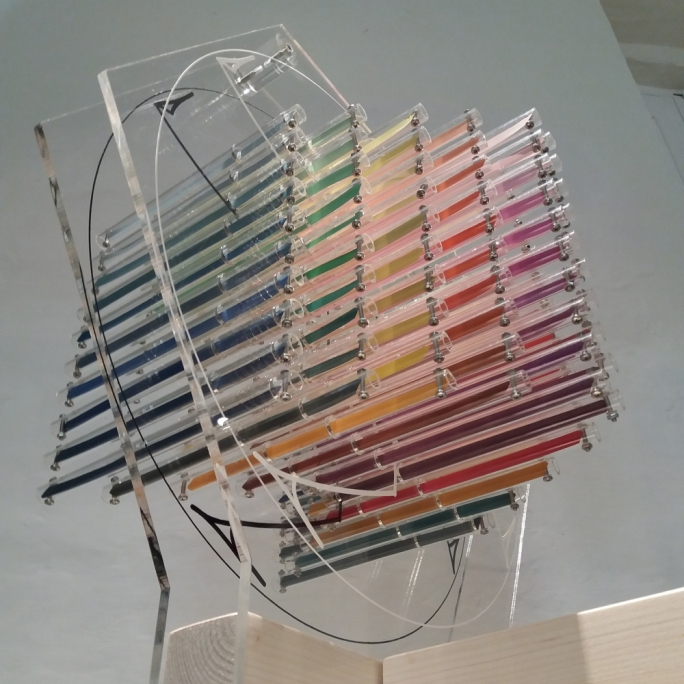 The kinetic sculpture 'Nuts and Bolts' is Josianne Bonello's contribution to Perception: Postscripts, currently on display at the Malta Society of Arts