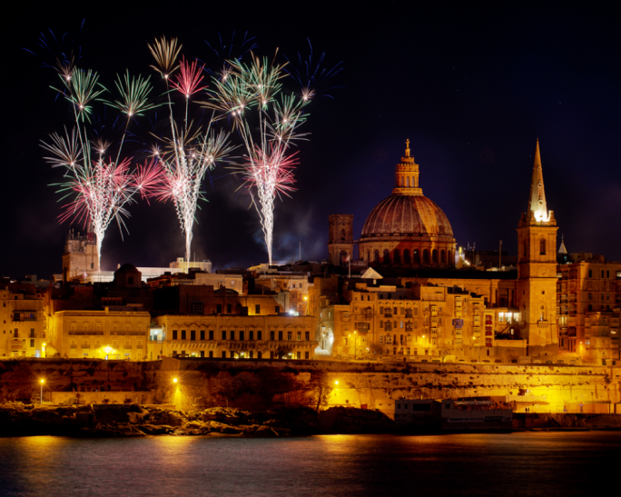 What to expect on New Year's Eve in Valletta