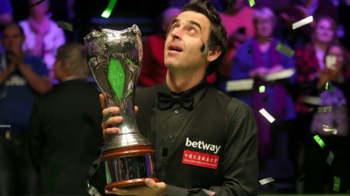 Ronnie O`Sullivan after winning his sixth UK Championship