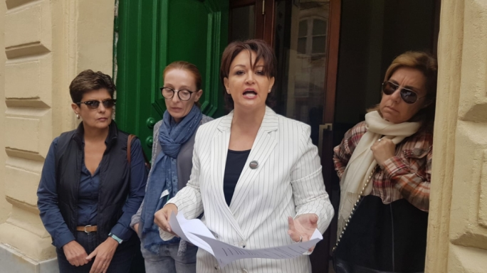 [WATCH] Occupy Justice ask police to investigate Konrad Mizzi, Keith Schembri and Yorgen Fenech