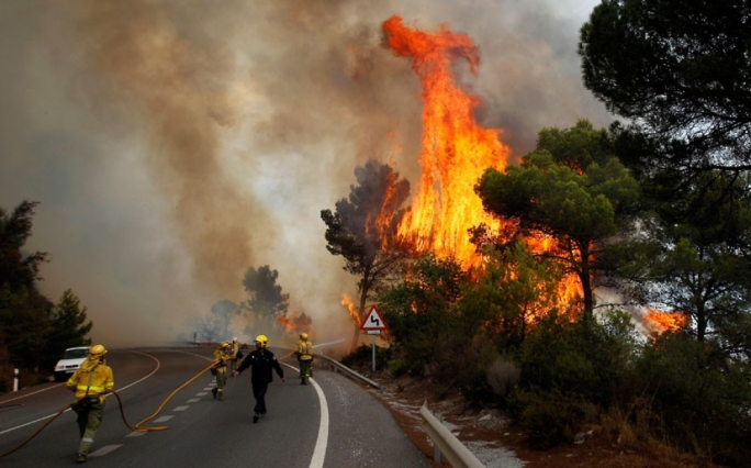 Fire services had deployed an additional 300 personnel to the usually verdant and mountainous area of Asturias, the region's fire service said, with another 30 being tasked with trying to coordinate efforts to extinguish the flames