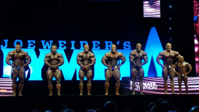 The 2016 Mr Olympia prejudging