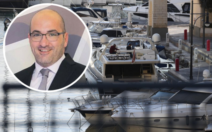 [WATCH] 17 Black owner Yorgen Fenech under arrest after yacht stopped from leaving Portomaso