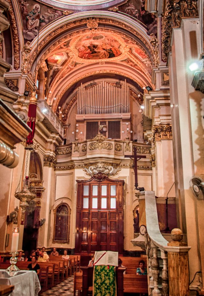 The Malta International Organ Festival will be taking place across various religious venues in Malta and Gozo PHOTO: Reuben Chircop