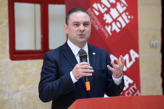 Owen Bonnici (Photo: James Bianchi/MediaToday)