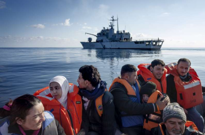 EU launches military action against people smugglers in the Med