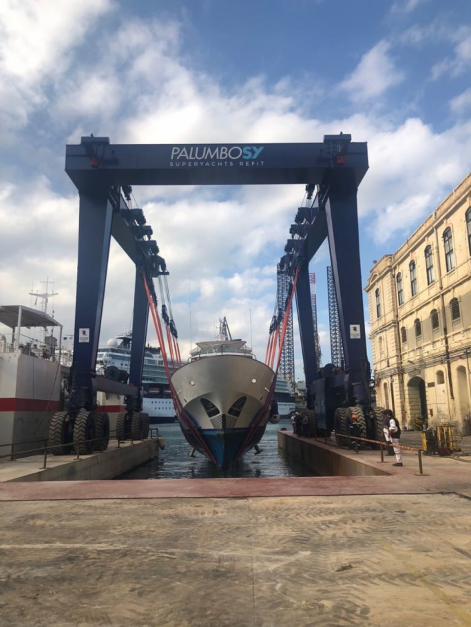 Palumbo invests €2.5m in massive boat lift