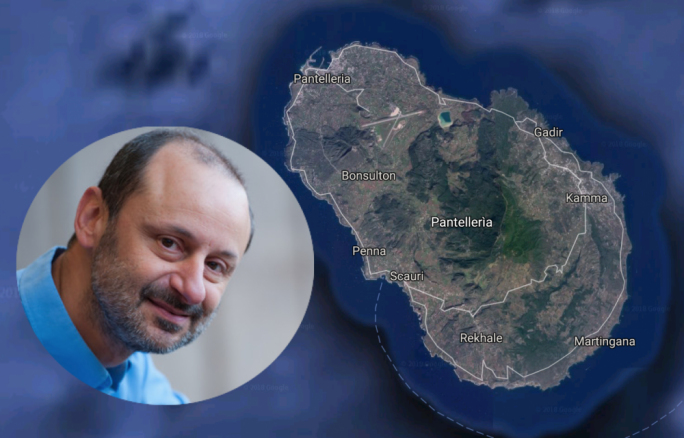 Professor Godfrey Baldacchino is suggesting Malta expand its territory by offering to buy Pantelleria