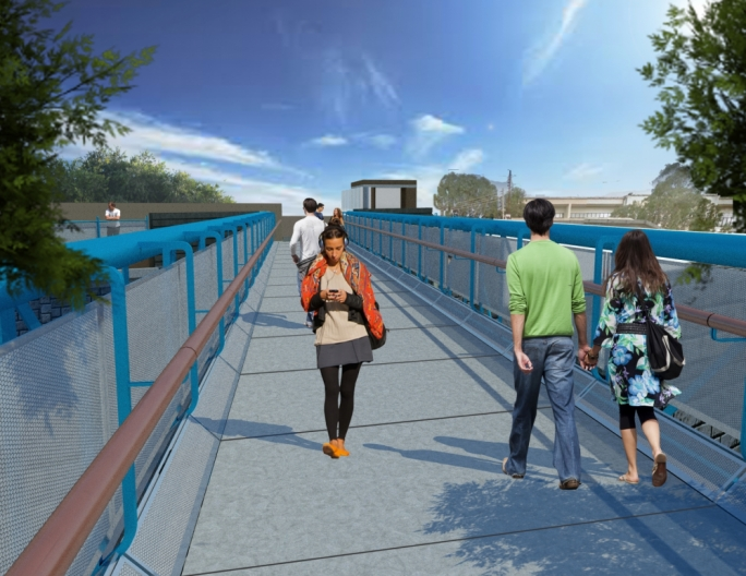 Footbridge across busy Paola road will make it easier for students to reach MCAST
