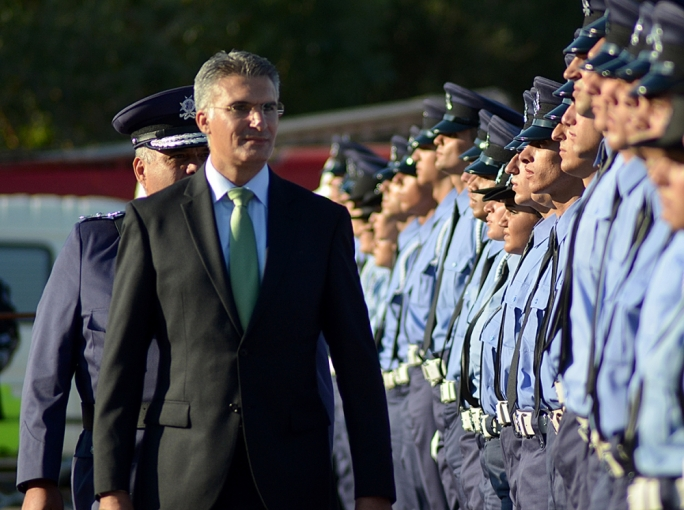Police force welcomes 116 new recruits