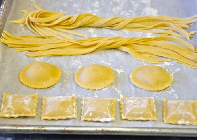 [WATCH] Fresh pasta dough