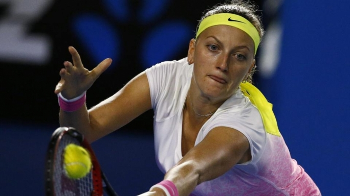 Petra Kvitova struggles against Madison Keys