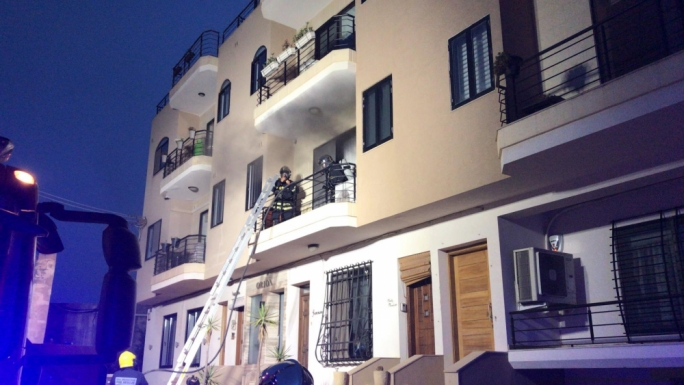 Nobody injured in Naxxar apartment fire