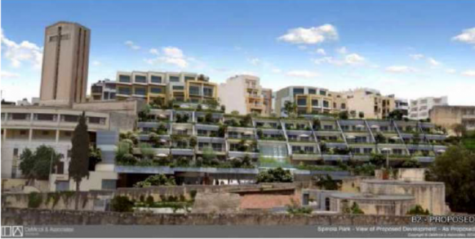 Spinola project earmarks more office and parking spaces