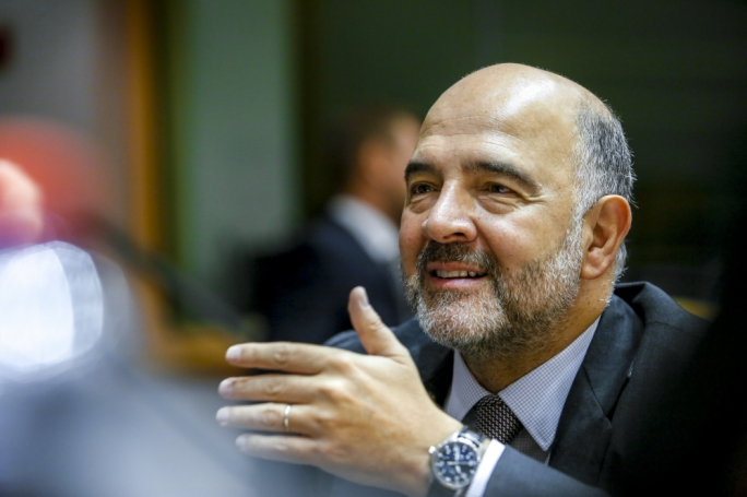 European Commissioner Pierre Moscovici