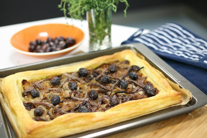 Pissaladière - French onion tart