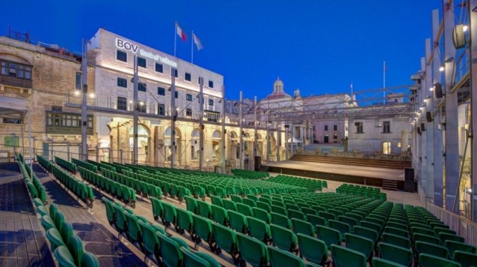 Will Valletta's open-air theatre get a roof?