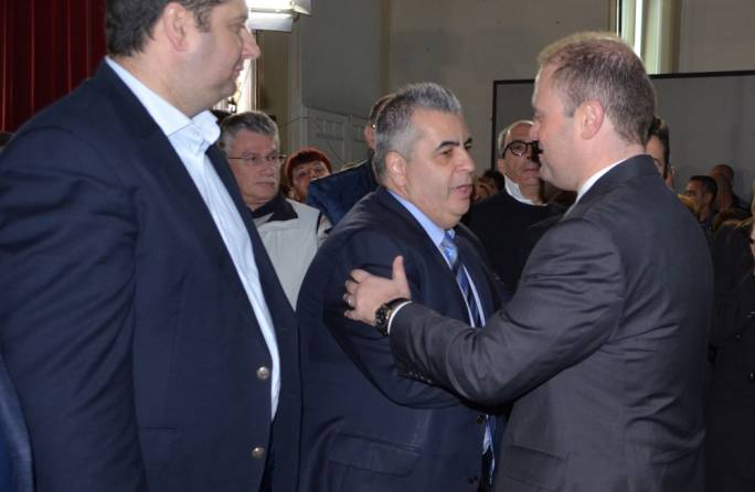 Prime Minister Joseph Muscat and former parliamentary secretary Michael Falzon • Photos: Chris Mangion