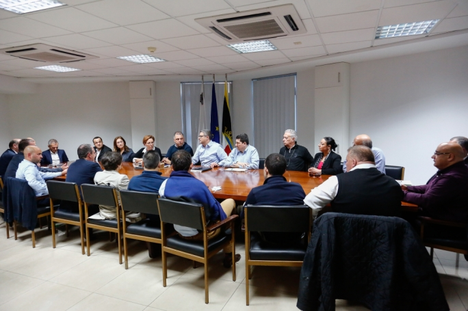 The PN parliamentary group met at party headquarters to discuss the latest developments linked to Daphne Caruana Galizia's murder (Photo disseminated by the PN)