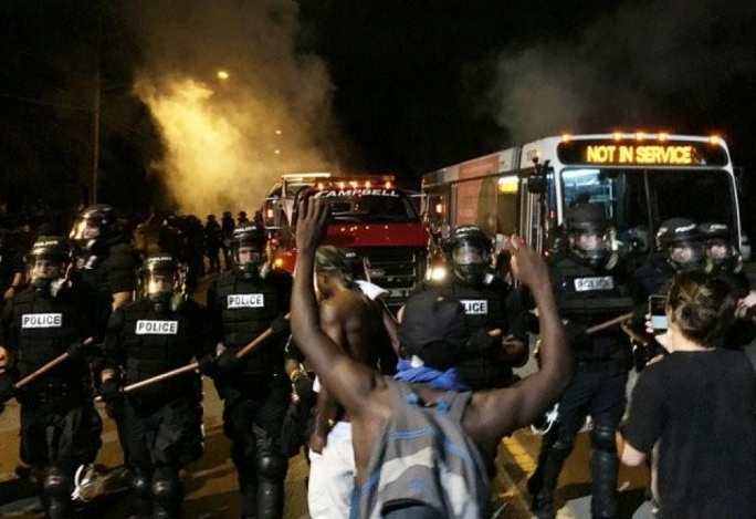Charlotte declares state of emergency after second night of unrest