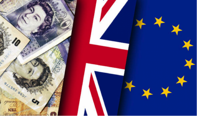 Sterling hit new two and three month lows against the Euro and the US dollar before recovering slightly intraday