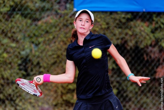 14-year-old Helene Pellicano has becoem the first Maltese tennis player to win the Junior European Tennis Championshiop
