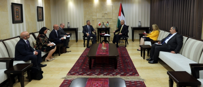 Government of Malta pledges €50,000 to Palestinian relief and human development agency