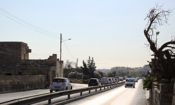 Triq tal-Balal widening project underway