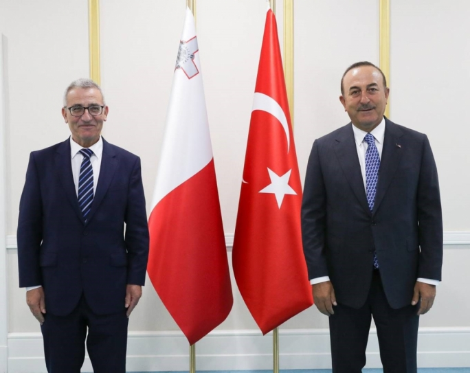 Foreign Minister Evarist Bartolo met with his Turkish counterpart Mevlüt Çavuşoğlu in an official visit to Ankara